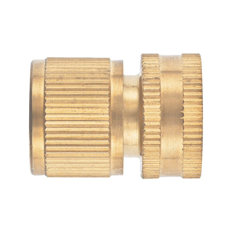 Garden Water Connectors PALISAD 66268 Connector Brass Quick Connectors zndiy bry pe8 8mm t type pneumatic quick fitting push in connectors black blue 10 pcs