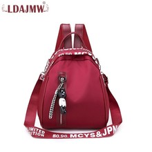 New Women Anti -theft Backpack High Quality Oxford Doek Waterproof Multifunctional Travelers Pop Girl Bag