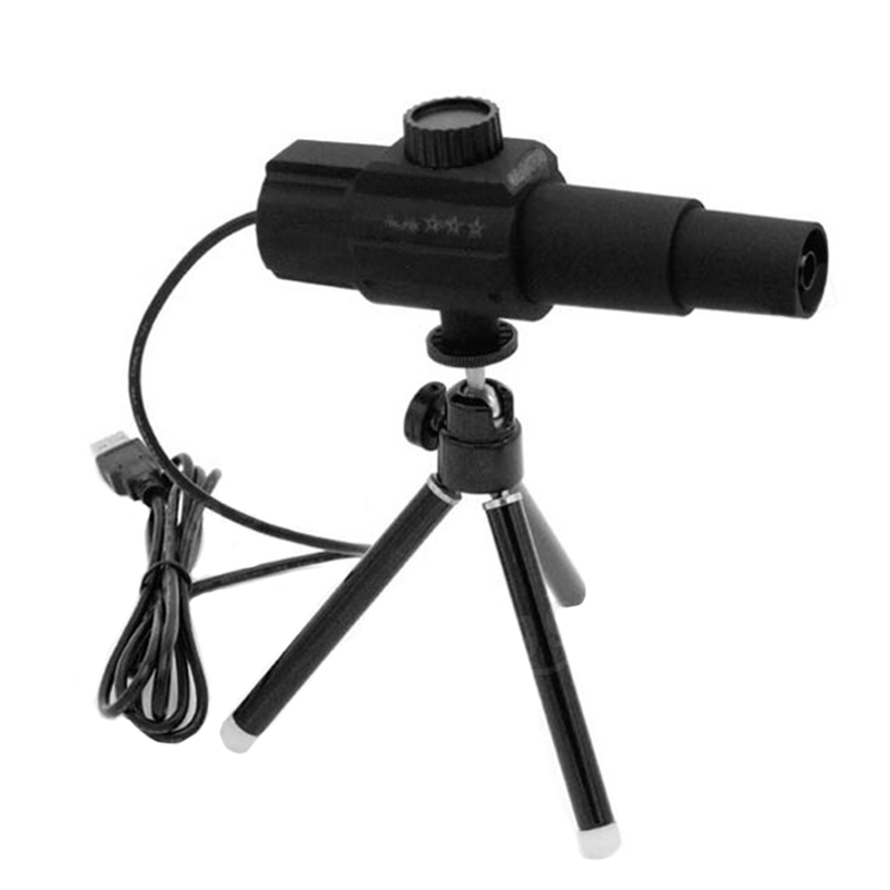 Experto Css W110 Digital Inteligente Usb 2mp Microscopio Cámara Telescopio Con Monitor De Detección De Movimiento Fotografía Vídeo En Directo