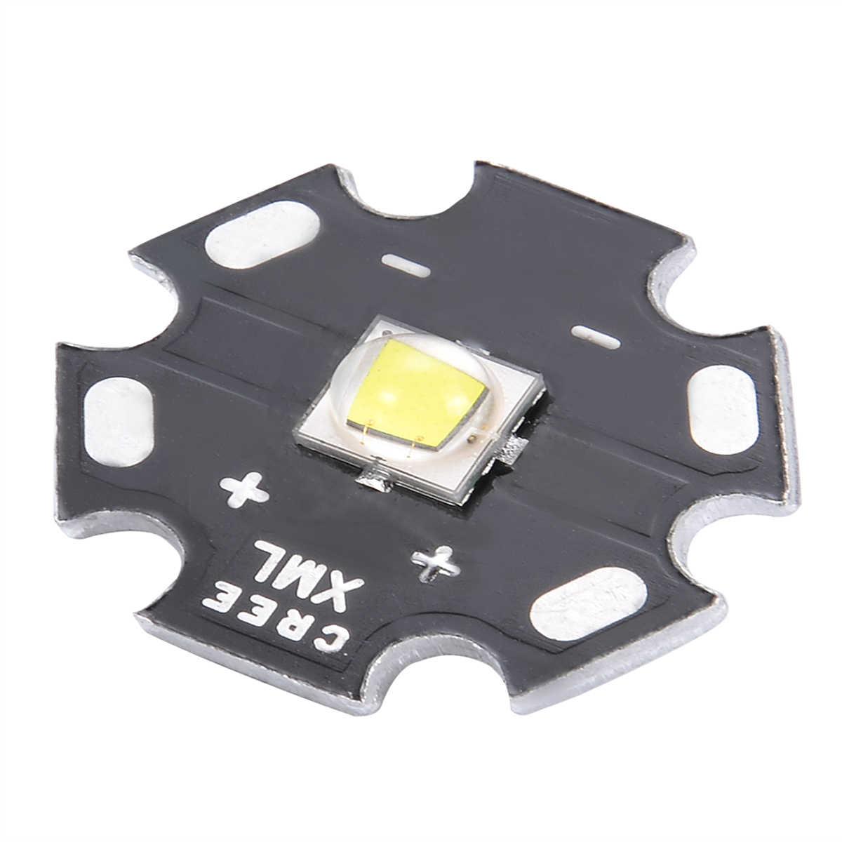 Cree XM-L2 U3 Bin 10W 3A 1260lm Neutral White Light LED Emitter 20mm Star USA
