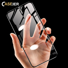 CASEIER 5D Shatterproof Tempered Glass For iPhone XR XS MAX X HD Screen Protective Film 7 8 6 6s Plus Phone