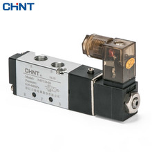 CHINT Pneumatic Air Valves Electromagnetism Valve Two Position Five 24V 12V Reversing