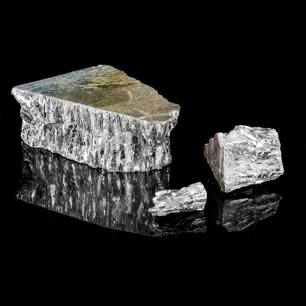 1000g Bismuth Metal Ingot Chunk 99.99% Pure Crystal Geodes for Making Crystals/Fishing Lures
