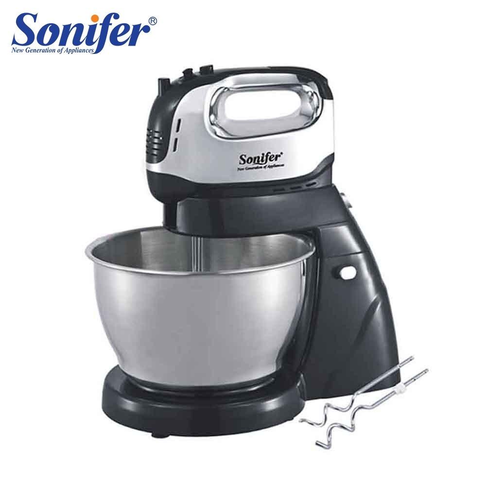250 W Multifuncional tamanho Grande Mesa de Misturadores de Alimentos Batedeira Elétrica Batedor de Ovo Misturador de Alimentos para Cozinha Sonifer