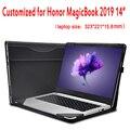 Индивидуальный чехол для HuaWei Honor MagicBook 2019 14 дюймов чехол для ноутбука Съемная сумка Креативный дизайн стилус подарок