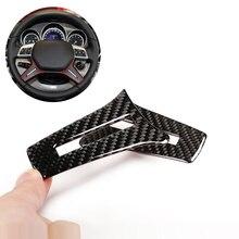 Per Mercedes Benz Classe C W204 2005 2006 2007 2008 2009 2010 2011 2012 2pcs In Fibra di Carbonio Volante pannello di Copertura Della ruota
