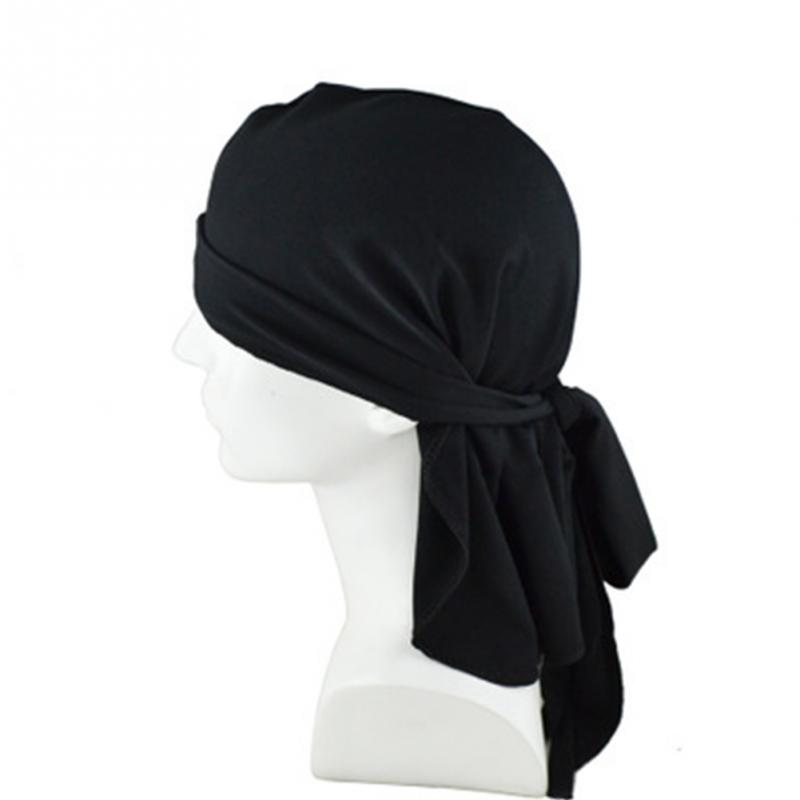 Quick Dry Head Scarves Breathable Multi Use Beanie Snood White Black Hip Hop Cap UV Face Bandanas Motorcycle Pirate Scarf~