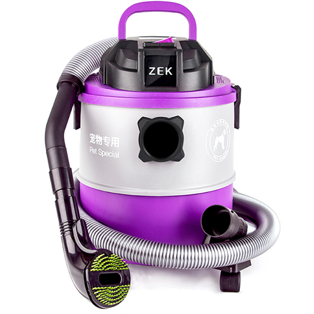 ZEK A9 Household Wet Dry Small Hand held Pet Hair Vacuum Cleaner for Dog Cat 1000W 16KPA Strong Suction