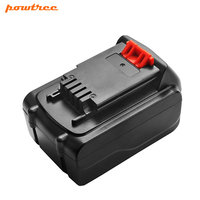 Powtree 20V 4.5Ah Li Ion LB20 Battery for Black & Decker LBXR20 LB20 LBX20 ASL186K BDCDMT120 CHH2220 LD3K220 LPP120 LST120 L10
