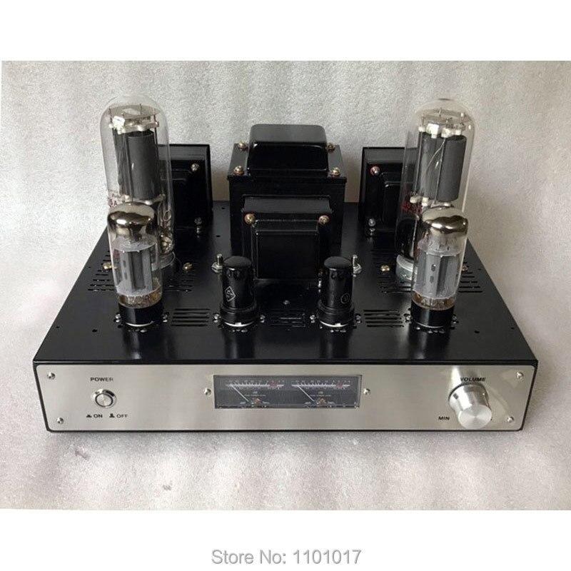 Oxinxin 805A amplificador de tubo HIFI exquisis amplificador de lámpara de un solo extremo 805-in Amplificador from Productos electrónicos    1