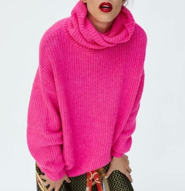 Oversized Turtleneck Sweater 4