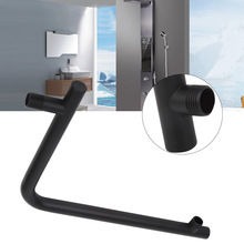 G 1/2 Extra Long Stainless Steel Shower Rain Head Arm Bathroom Replacement Set brazo de ducha Supplies