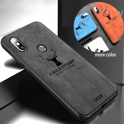 Shockproof Deer Cloth Cases For Xiaomi Redmi note 8t 6 7 8 Pro go 6 6a 7a Back Cover on xiomi mi 9t 9 a2 lite a3 Protective Case Lahore