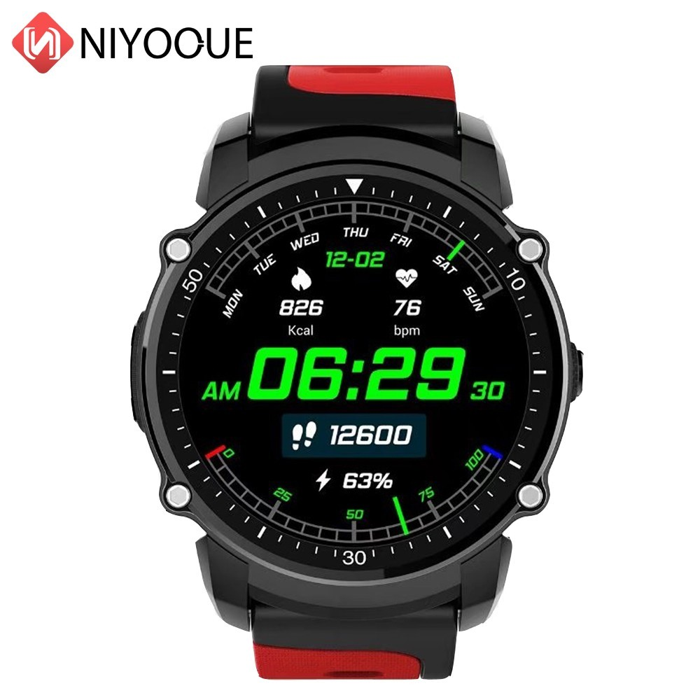 Здесь можно купить  NIYOQUE FS08 Professional Sport Smart Watch Waterproof IP68 Heart Rate Monitor Multi-Mode Fitness Tracker Smartwatch For Phone  Бытовая электроника