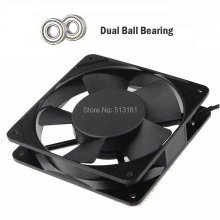 20 pieces 120mm x 25mm AC 220V/220V Dual Ball Bearing 2050RPM AC Cooling Fan Axial Fan 12cm 120mm