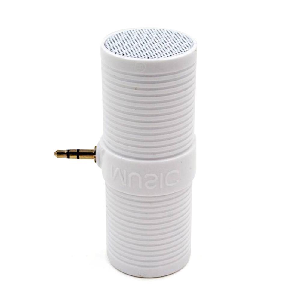Image 4 - 3.5MM In   Line Stereo Mini Speaker Portable Speaker MP3 Music Player Speaker For Mobile Phones Tablets Direct Insert Speaker-in Portable Speakers from Consumer Electronics