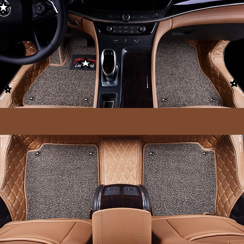 Mouldings Protector Auto Parts Floor Mats Car Carpet Interior Modified Styling Decorative Automobiles Foot Pad For Toyota Levin Floor Mats Interior Accessories