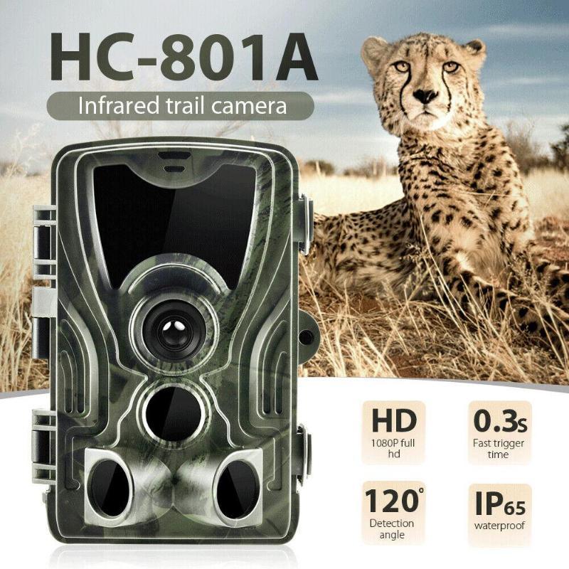 1080 P 16MP IR Vision nocturne enregistreur vidéo sauvage prendre avec une réponse de démarrage rapide HC-801A caméra de piste chasse en plein air