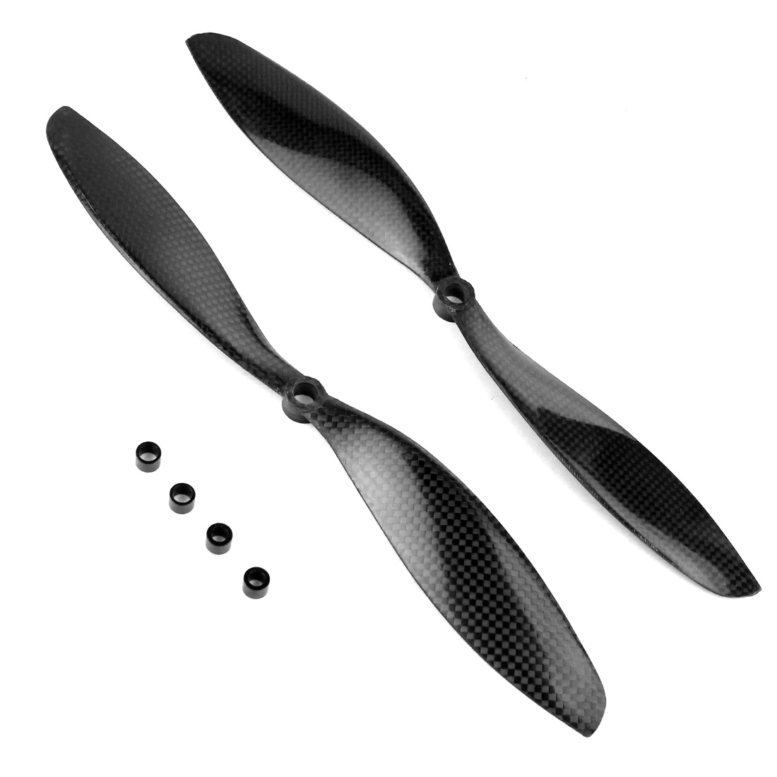 11x4.7 3K Carbon Fiber Propeller CW CCW 1147 CF Props For RC Quadcopter Hexacopter Multi Rotor UFO + FS Drone Accessory F05306