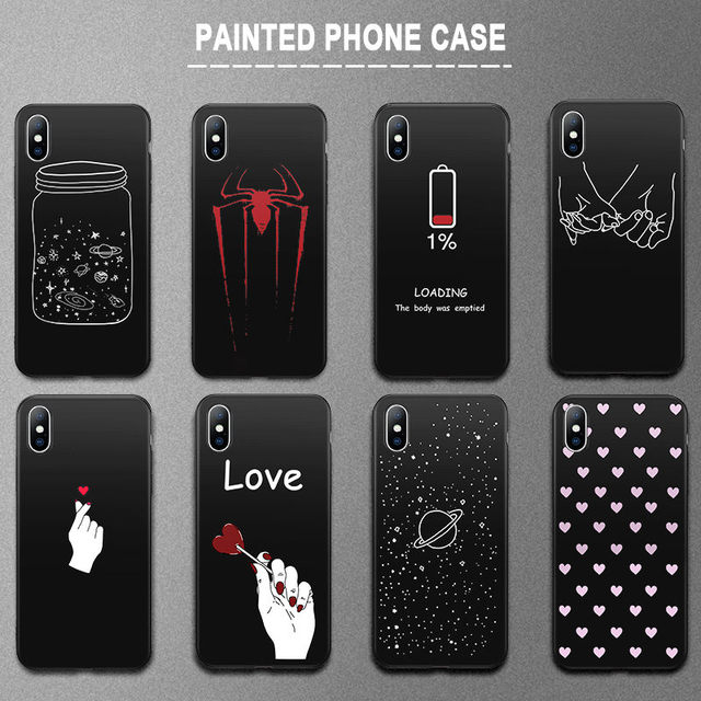iPhone King Queen Crown Fashion Silicone Soft TPU case For iPhone