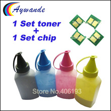 Chip Toner-Powder Refill Q6001A Laserjet HP for Hp-Color Cm1015/Cm1017/1600/.. Reset