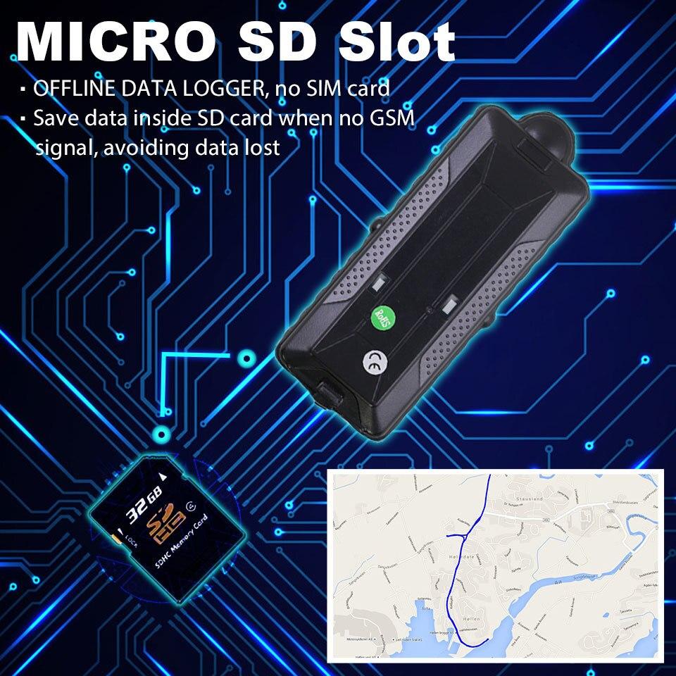 4G 3g gps трекер для автомобиля TK20G магнит водонепроницаемый портативный аккумулятор 20000 мАч Wi Fi датчик движения Дроп сигнализация бесплатная веб приложение GSM голосовой монитор - 3