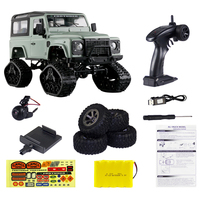 1:16 2.4G 4WD Cross Country Car Snow Climbing Car RC Remote Control Car Toy With 2 Kinds All Terrain Crawler Wheels WIFI Camera