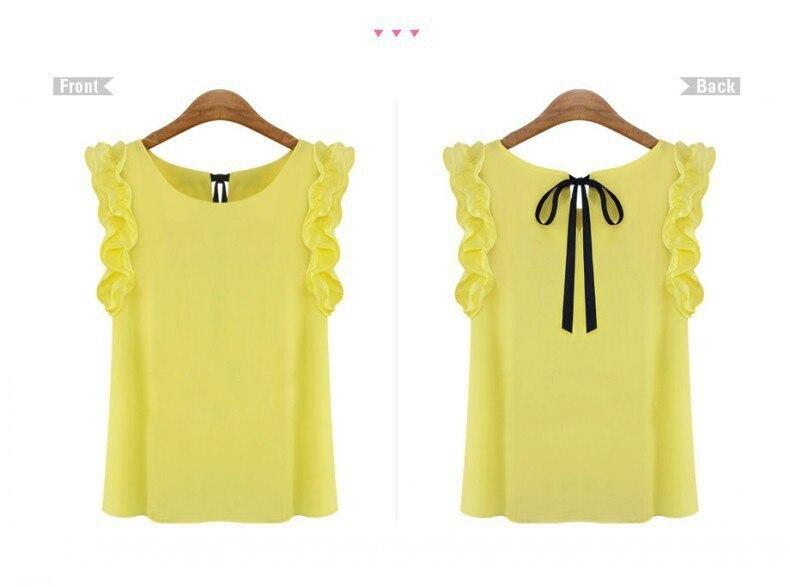 HLB1clbjFVXXXXadXVXXq6xXFXXXh - New Fashion Women Blouse Summer O-neck pullover lacing bow