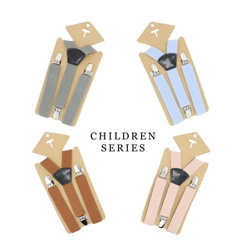 Baby Suspenders Fashion Kids Braces Strong 3 Clips Boy Ring Bear Suspenders Trousers Suspensorio Elastic Strap Size