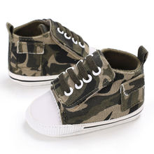 Fashion Camouflage Baby First Walkers Baby Shoe