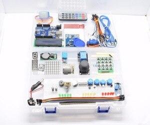 Image 2 - TZT أحدث عدة بداية تتفاعل لاردوينو UNO R3 نسخة مطورة التعلم جناح مع صندوق البيع بالتجزئة