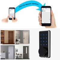 Мобильный телефон приложение Bluetooth WiFi беспроводной умный электронный дверной замок сенсорный пароль Блокировка безопасности дверная ручк
