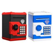 Electronic Piggy Bank ATM Password Money Box Cash Coins Saving Box ATM Bank Automatic Deposit Safe Box Kids Gift