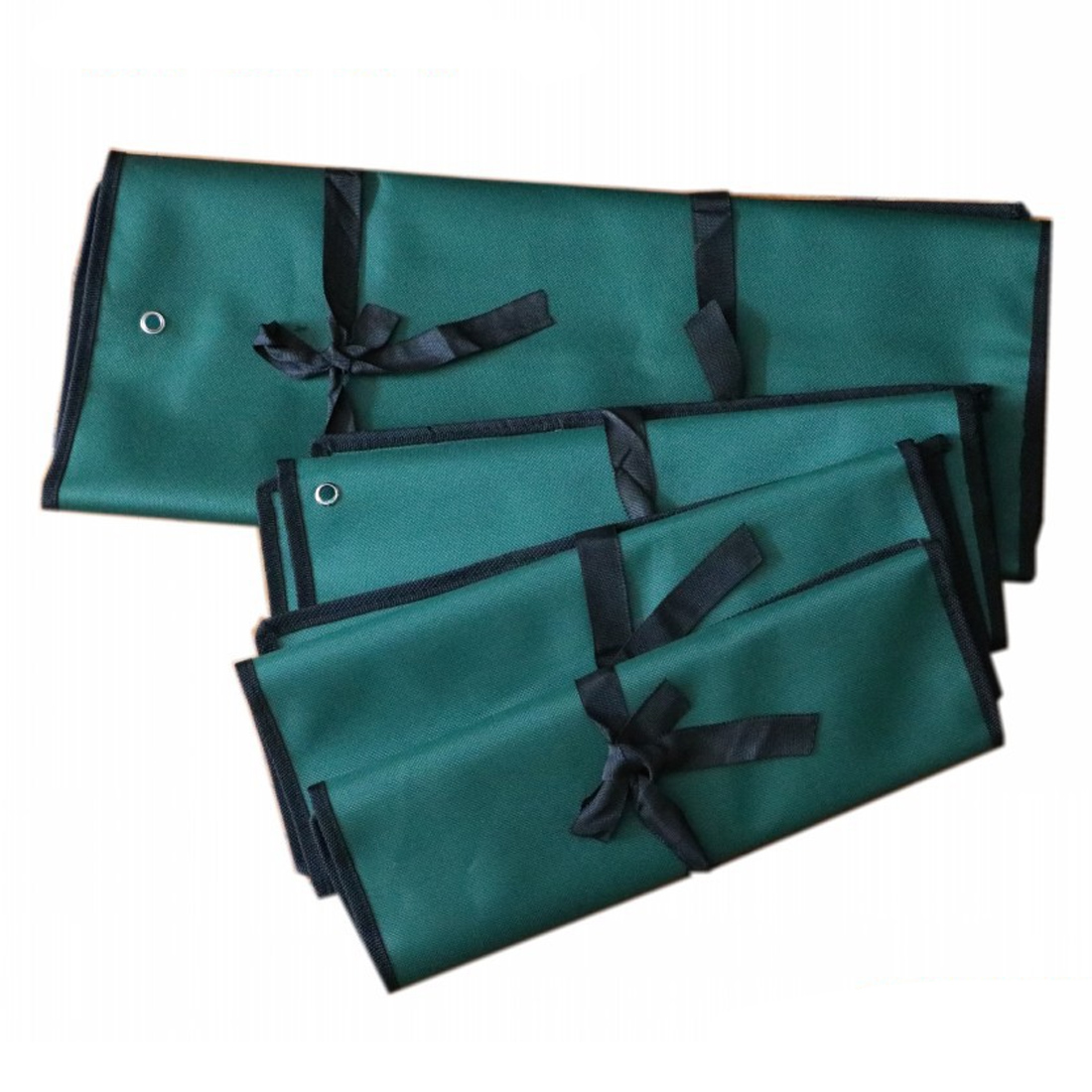 Kit Case Tool  Hardware Kit Pockets Double Opening Offset Ring SpannerBag Spanner Wrench Roll Up Storage Organizer Bag