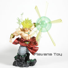Dragon Ball Z Super Saiyan Broly A Queima de Batalhas Ver. PVC Action Figure Collectible Modelo Toy(China)