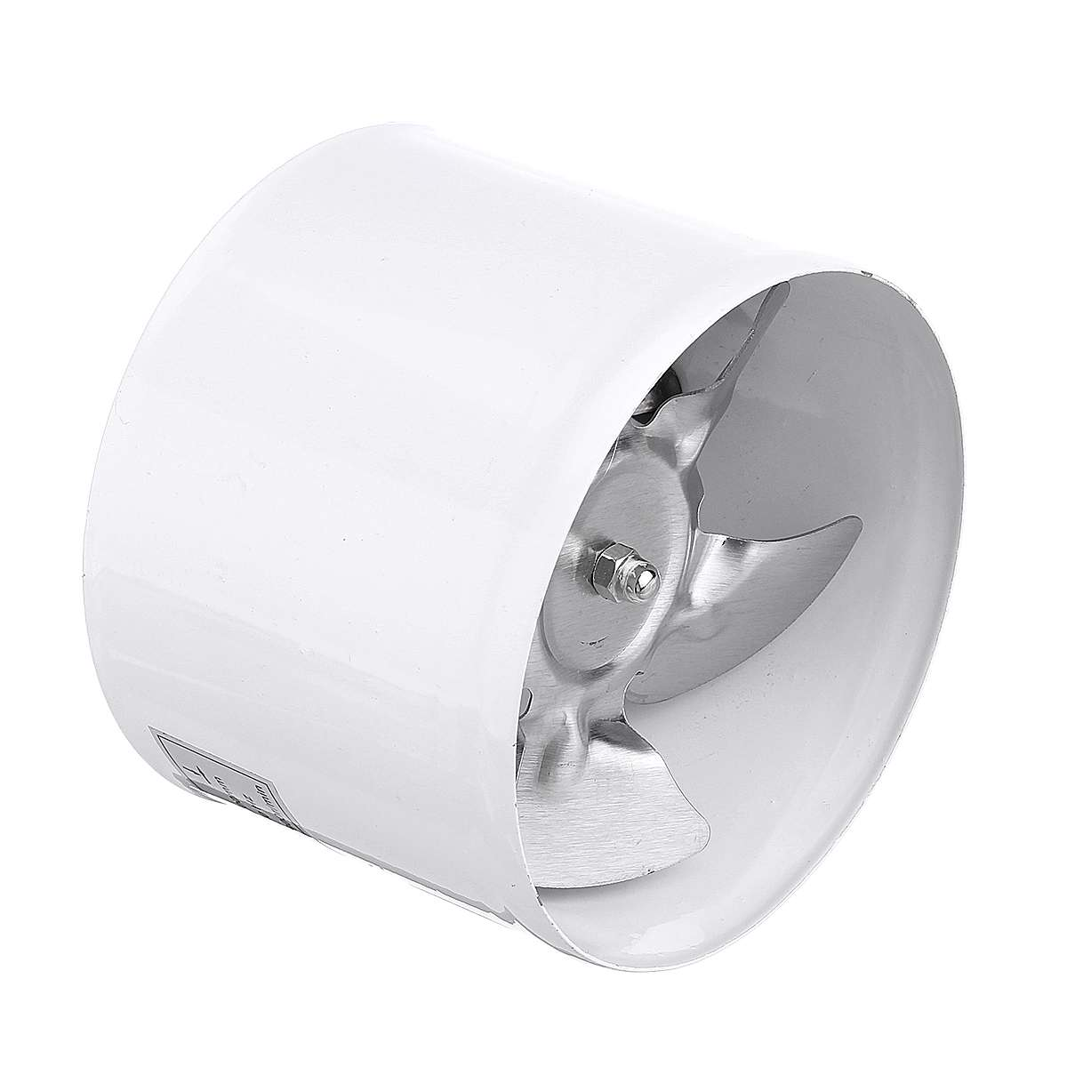 4 Inch Round Duct Fan Wall Toilets Window Exhaust Fan Ventilation Quiet Industrial Kitchen Exhaust Ventilate Air Vent Fan 100mm