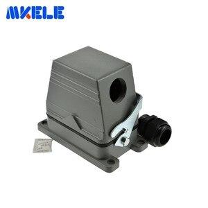 Image 2 - Mk he 048 1 48 Pins Rechthoekige Socket Harting Connector Meerdere 1 24pin En 25 48pin Heavy Duty Connector