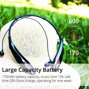 Image 2 - EARDECO Large battery Wireless Headphones Bass Stereo Sport Bluetooth Earphone Headphone with mic Earphones Headset for phone