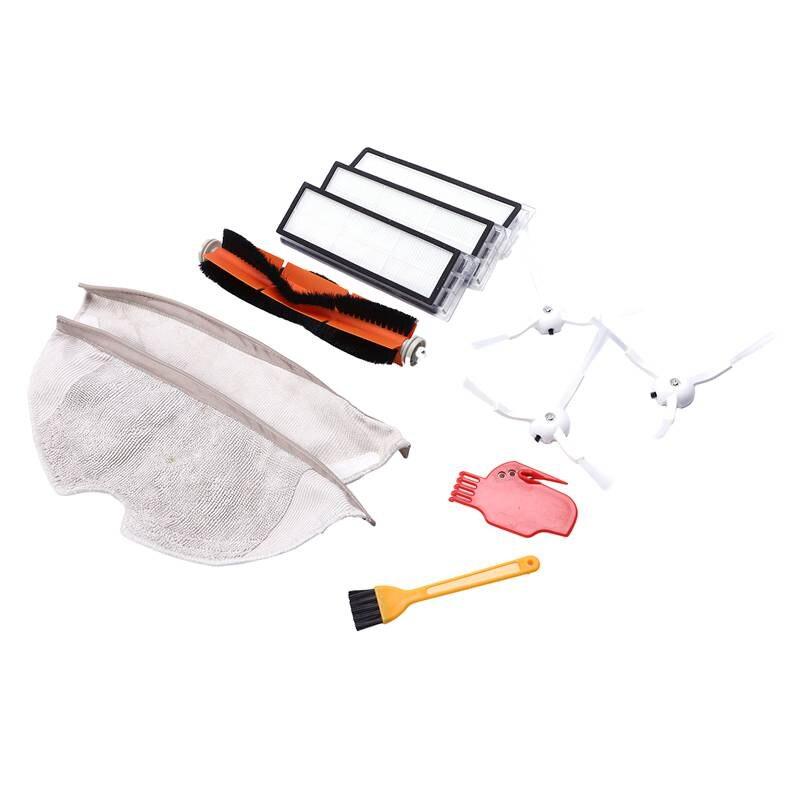 Аксессуары для Xiaomi Mi робот вакуумная боковая щетка 3 шт. Hepa фильтр 3 шт. основная щетка 1 шт. чистящий инструмент 1 шт. очиститель деталей (Styl