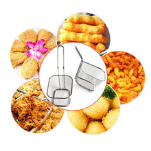 Brand New Style Stainless Steel Chef Basket Mini Fry Baskets Fryer Cooking French Fries Basket