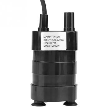 JT-560 Mini High Hydraulic Head DC Brushless Submersible Water Pump 24V Flow 1000L/H DC Pump pompa Hot Sale