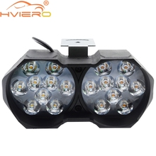 6Led 9Led 18Led 10W 25W Auto Car Lamp Motorcycle Led Light Fog Spot White Headlight Working DC 12V 24V External Lighting