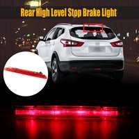 Car Third Brake Light 12V 1.26W Auto LED Rear Third Brake Lights Tail High Mount Stop Lamp Red for Nissan Qashqai 2006 2014