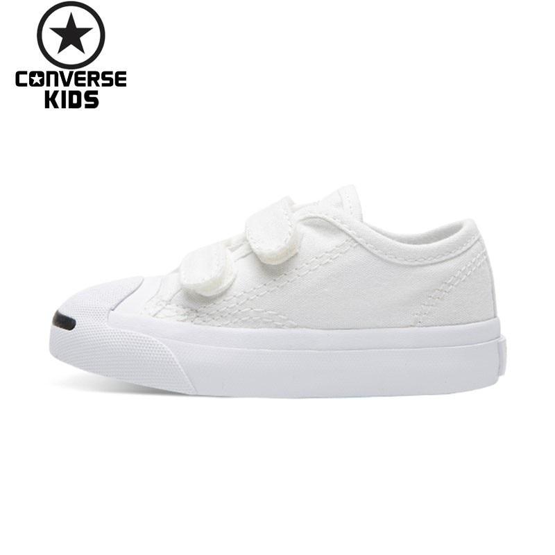 CONVERSE Children's Shoes Classic Hatch Laugh Low Help Magic Subsidies Woman Baby Canvas Shoes #761308C-S converse kids shoes black star arrows low help magic subsidies canvas shoes 660743c h