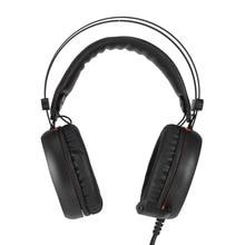2018 Hottest Wired Gaming Headphones A6L Jogo USB Over-Ear fone de Ouvido Fone de Ouvido Com Microfone Para Computador Gamer