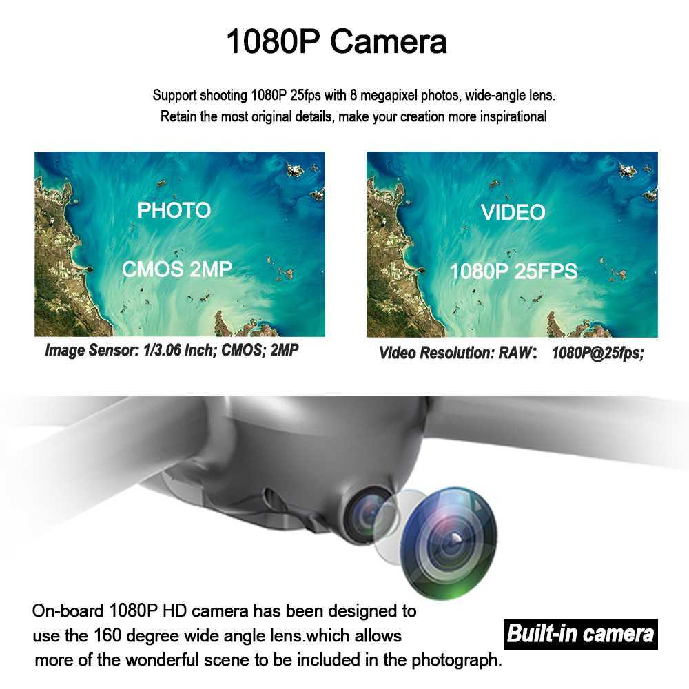 Image 2 - MJX B2SE GPS Brushless Motor RC Drone 1080P HD Camera 5G WiFi FPV Precise GPS Altitude Hold Smart Flight RC Quadcopter VS B5W-in RC Helicopters from Toys & Hobbies