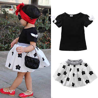 f73ed5a925 Detail Feedback Questions about 2019 Baby Girls Black T Shirt ...