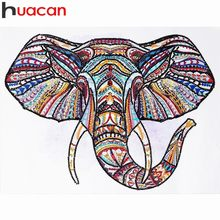 Huacan Special Shaped Diamond Embroidery Animal 5D Diamond Painting Cross Stitch Mosaic Home Decoration Painting 40x30cm(China)