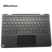 Original For Lenovo Chromebook 100E N3350 Laptop Palmrest Keyboard&Touchpad