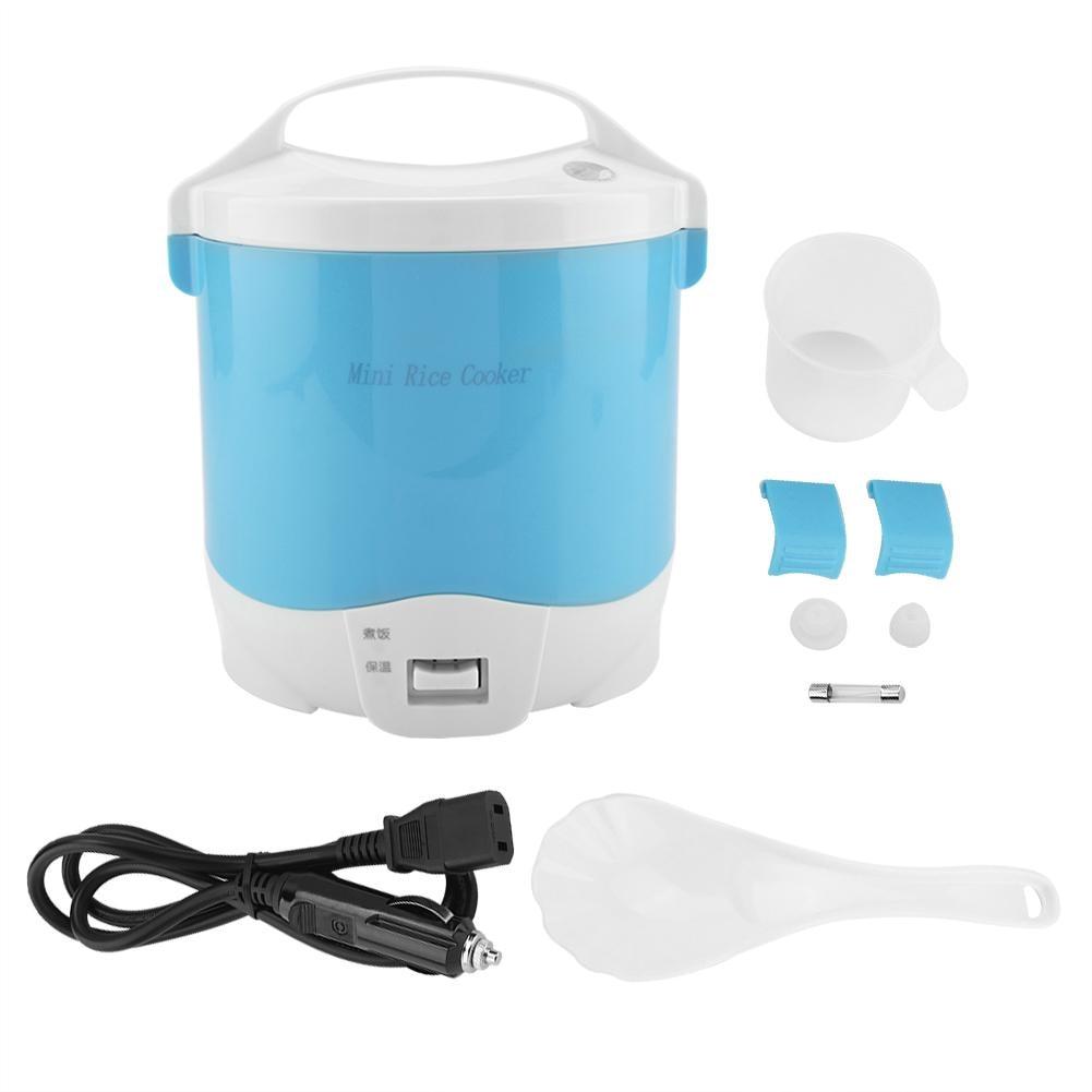 1.6L 24 V électrique Mini cuiseur à riz MultCookers Portable cuiseur à riz utilisé dans la maison voiture camion 180 W Multicookings professionnel